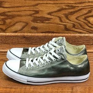 Converse CTAS Metallic Herbal White Black Shoes